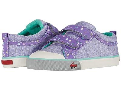 See Kai Run Kids Robyne (Toddler/Little Kid) (Purple Jersey) Girl