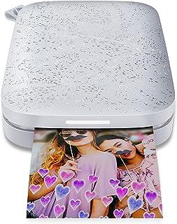 HP Sprocket 200 Photo Printer, Silver
