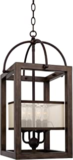 Best wood cage chandelier Reviews