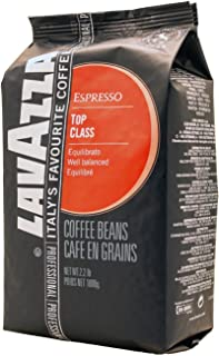 Lavazza Top Class Whole Bean Espresso, 2.2-Pound Bag (Pack of 2)