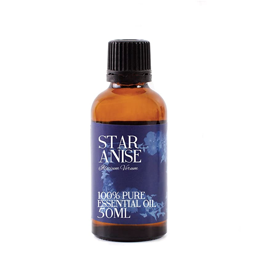 メイト石灰岩履歴書Mystic Moments | Star Anise Essential Oil - 50ml - 100% Pure