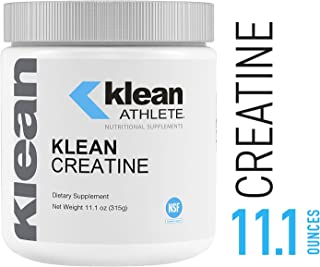 Klean Athlete - Klean Creatine - Supports Muscle Strength, Performance, and Recovery from Strenuous Exercise* - NSF Certified for Sport - Unflavored - 11.1 oz (315 g)