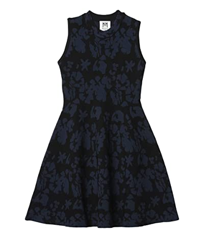 Milly Minis Floral Flared Dress (Big Kids) Girl
