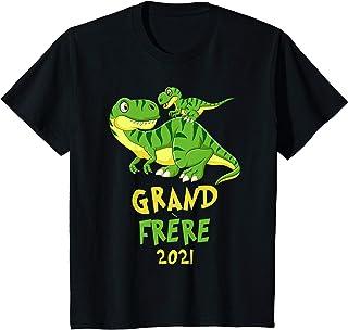 Enfant Grand Frère 2021 Tshirt Annonce de Grossesse Cadeau T-Shirt