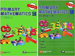 Primary Mathematics 5B SET--Textbook and Workbook