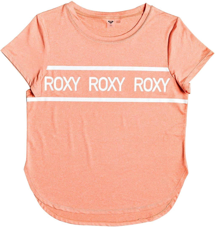 Roxy Damen Shine On Me Sport-t-Shirt Sport-t-Shirt