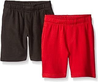 Boys 2 Piece Pack Fleece Shorts