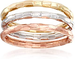 Best tri gold stackable rings Reviews