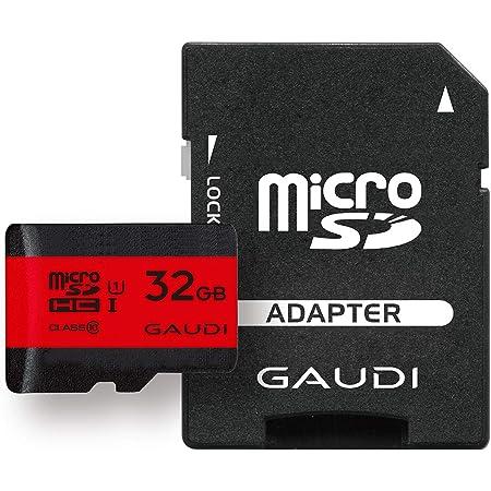 GAUDI microSDカード 32GB UHS-I Class10 Nintendo Switch/3DS 動作確認済 3年保証 GMSDHCU1A32G