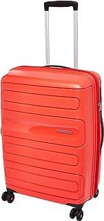 حقيبة سفر متوسطة الحجم صلبة صن سايد من أميريكان توريستر، أحمر، 68 سم