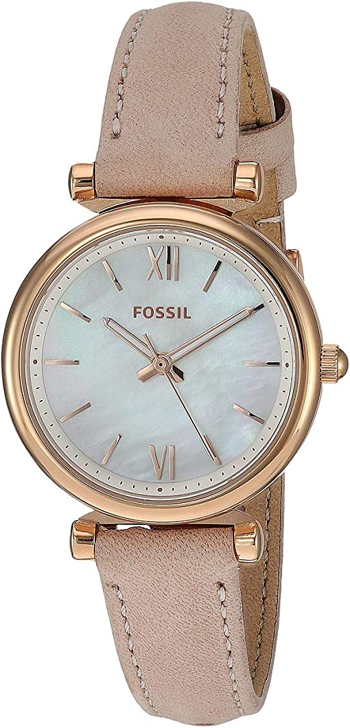 ES4699 Rose Gold Blush Leather