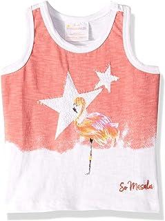 Masala Kids Girls' Little Masala Tank Top Flamingo