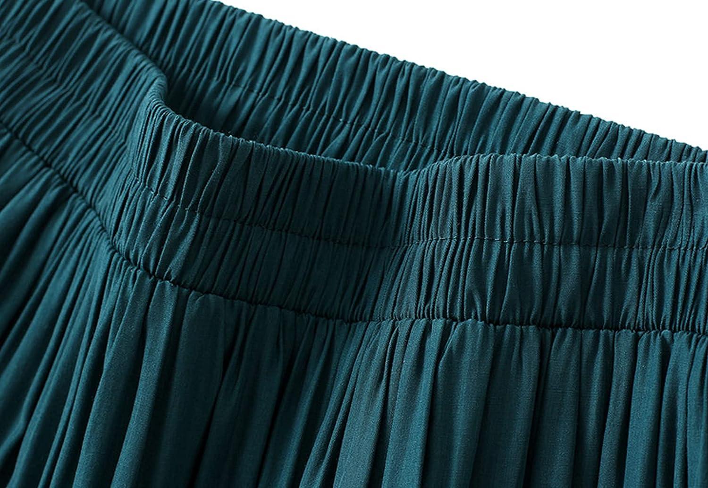 FEOYA Women Plus Size V Neck Printed Dress Bohemian Short Sleeve Mini Sundress