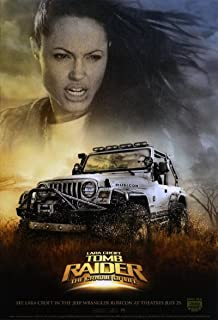 Lara Croft Tomb Raider: The Cradle of Life 2003 S/S Advance Movie Poster 13.5x20