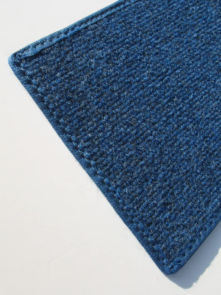 2.5'X9' Runner - Some reservation Bright Blue Multi Translated Outdoor Rug Area Indoor Car