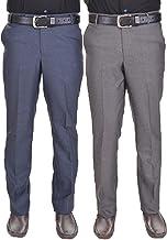 AD & AV Mens Trouser Pack of 2 Combo_GD_Blue_Grey_HH