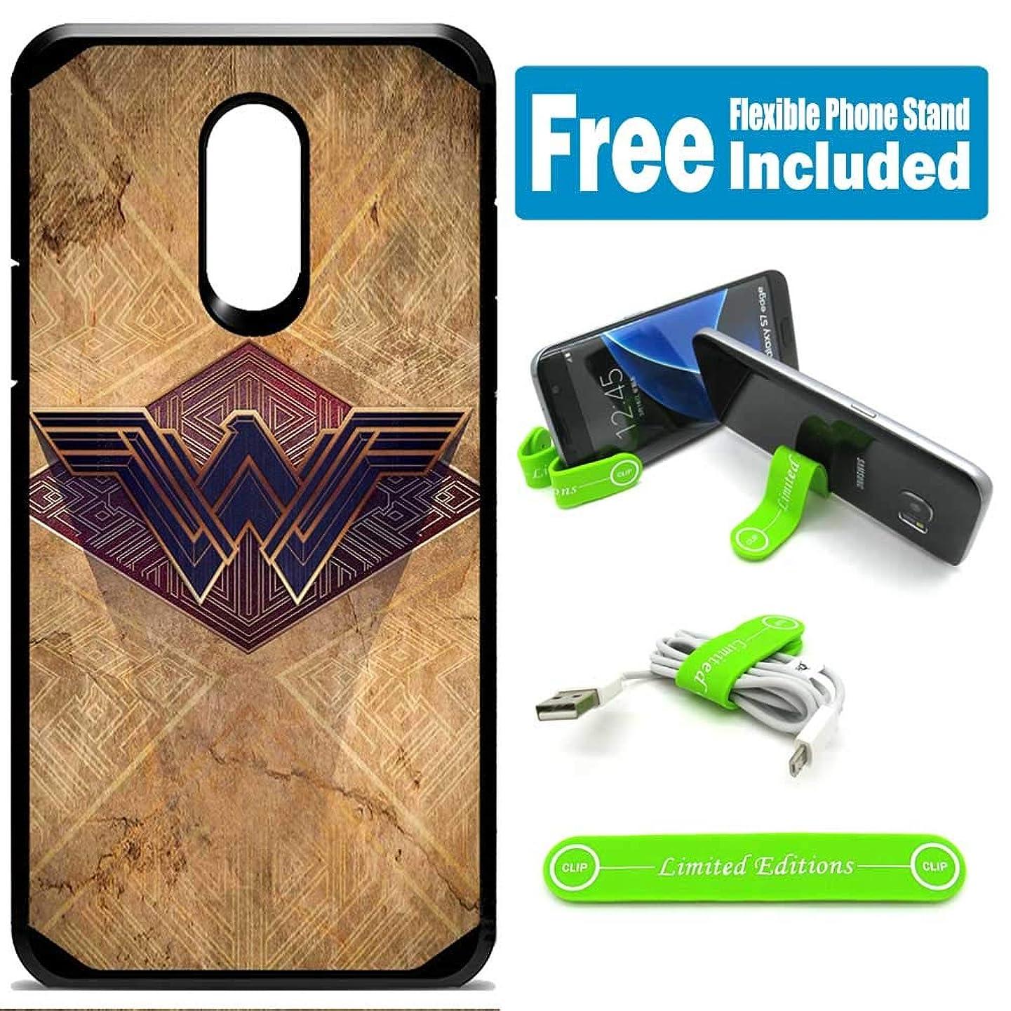 for Samsung Galaxy [J7 2018] [J7 Star] [J7 Refine] [J7 Aero] [J7 Eon] [J7 Crown] [J7 Aura] Defender Rugged Hard Cover Case - Wonder Woman Egypt