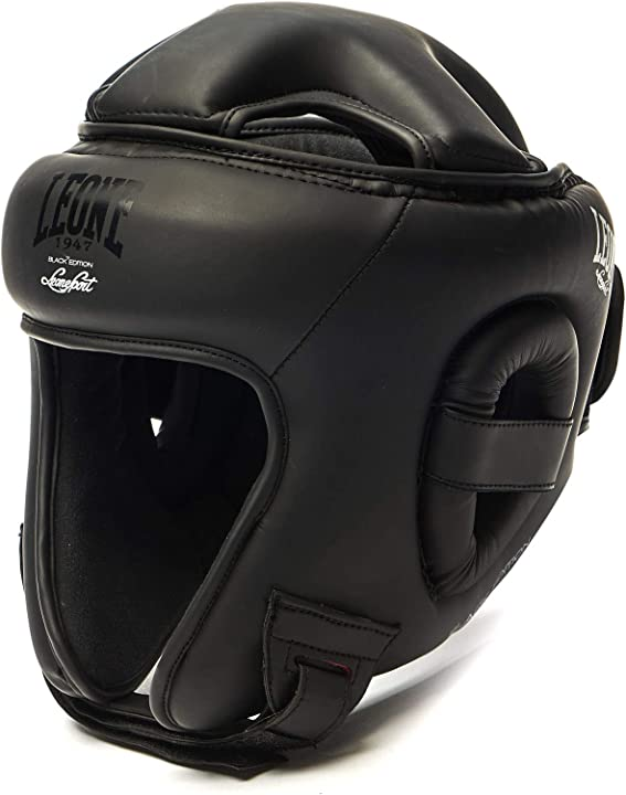 Casco boxe leone black edition 2.0 caschetto boxe leone 1947