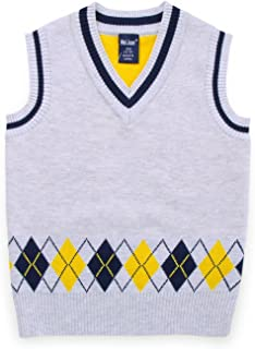 Baby Boy Sweater Vest Outfit