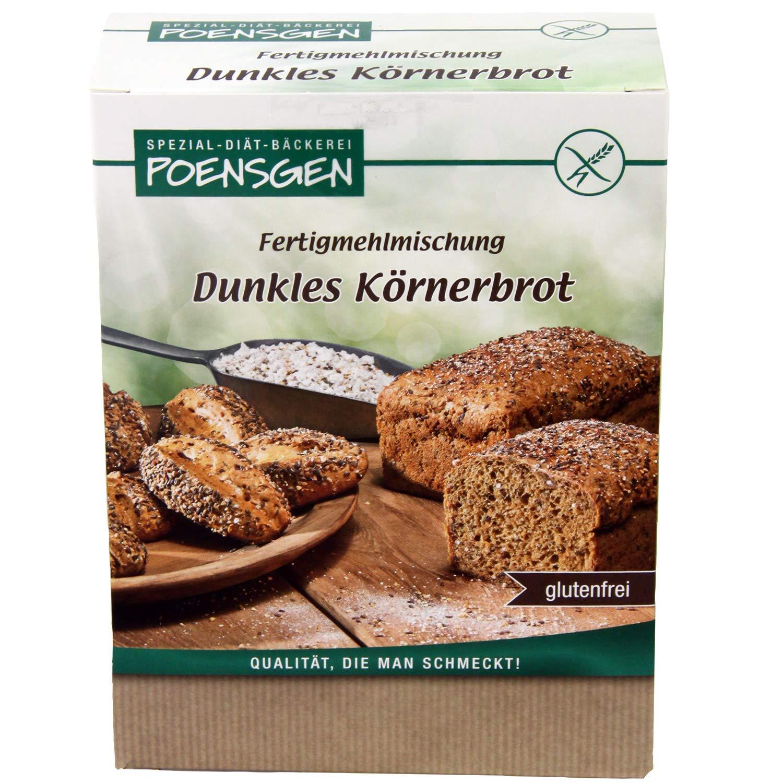 Körnerbrot Backmischung Glutenfrei 20 g 20,20 € / kg   Poensgen