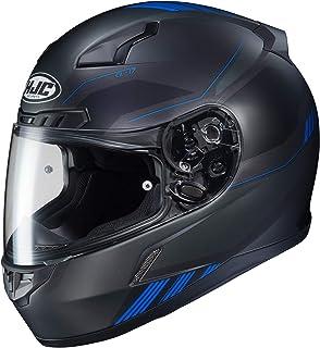 HJC Unisex Adult Full Face CL-17 Combat Motorcycle Helmet MC-2SF Black/Blue XX-Large