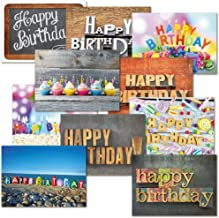 Playful Type Birthday Greeting Cards Value Pack - Set of 20 (10 designs), Large 5