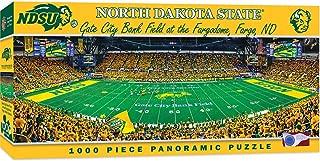 MasterPieces NCAA North Dakota State Bison, Stadium Panoramic Jigsaw Puzzle, Gate City Bank Field, 1000 Pieces