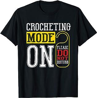 Mode De Crochet Sur Le Crochet Drôle De Tricot À Coudre T-Shirt