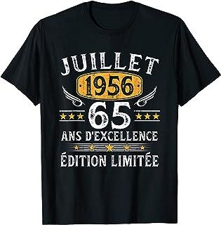T-shirt 65 Anniversaire prédicat Achèvement Original 1954 65 stères Hommes Xs 5xl