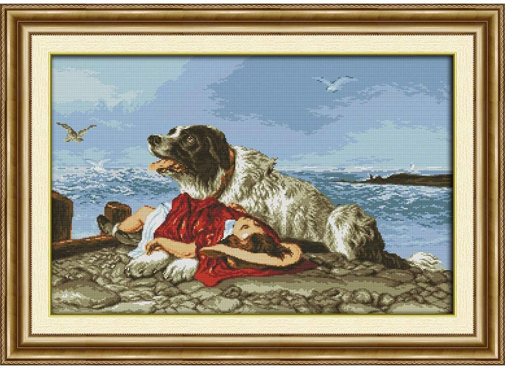 HNZXHYC Green Max 83% OFF Cotton Printed Cross Stitch Sale Special Price 14CT 11CT Kits DIY Hom