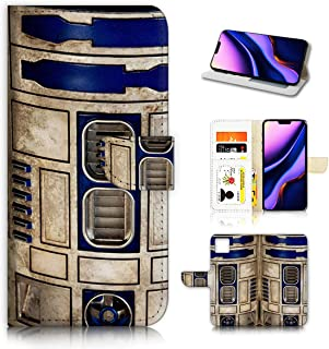 for iPhone 11 Pro, Designed Flip Wallet Phone Case Cover, A4061 Starwars R2D2