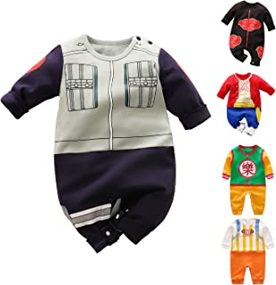 Halloween Newborn Baby Boys Girls Clothes Toddler Cosplay Lovely Long Sleeve Cartoon Romper Outfits