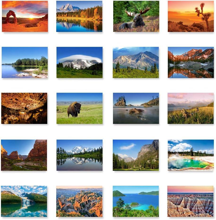 Postcards set of 9 U S postcards