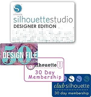 Silhouette Studio Basic to Silhouette Designer Edition Upgrade, Design Pack, Silhouette Club