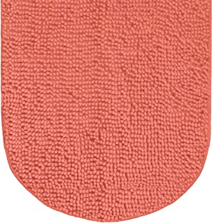 Sponsored Ad - Gorilla Grip Original Luxury Chenille Bath Rug Mat, 42x24, Extra Soft and Absorbent Large Oval Shaggy Bathr...