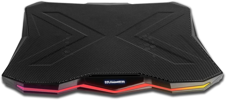 NOX Hummer Pro Stand -NXHUMMERPROSTAND- Base refrigeradora para portatil hasta 17,3