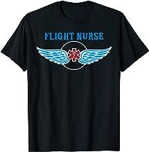 Flight Nurse Wings Tshirt EMS Flight Safety Gift