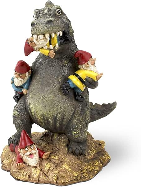BigMouth Inc The Great Garden Gnome Massacre Hilarious Lawn Gnome Godzilla 9 Inches Tall