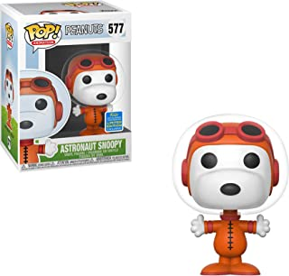 Funko Astronaut Snoopy (2019 Summer Con Exc) Pop Animation Vinyl Figure & 1 Compatible Graphic Protector Bundle (40047 - B)