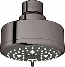 GROHE 26043A01 New Tempesta Cosmopolitan 100 4 Spray Shower Head, Hard Graphite