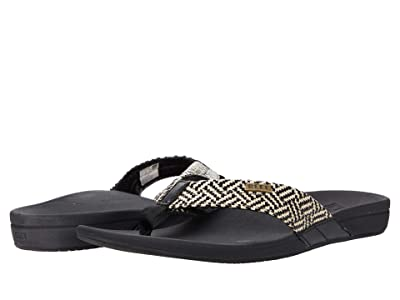 Reef Ortho-Spring (Black/Vintage) Women