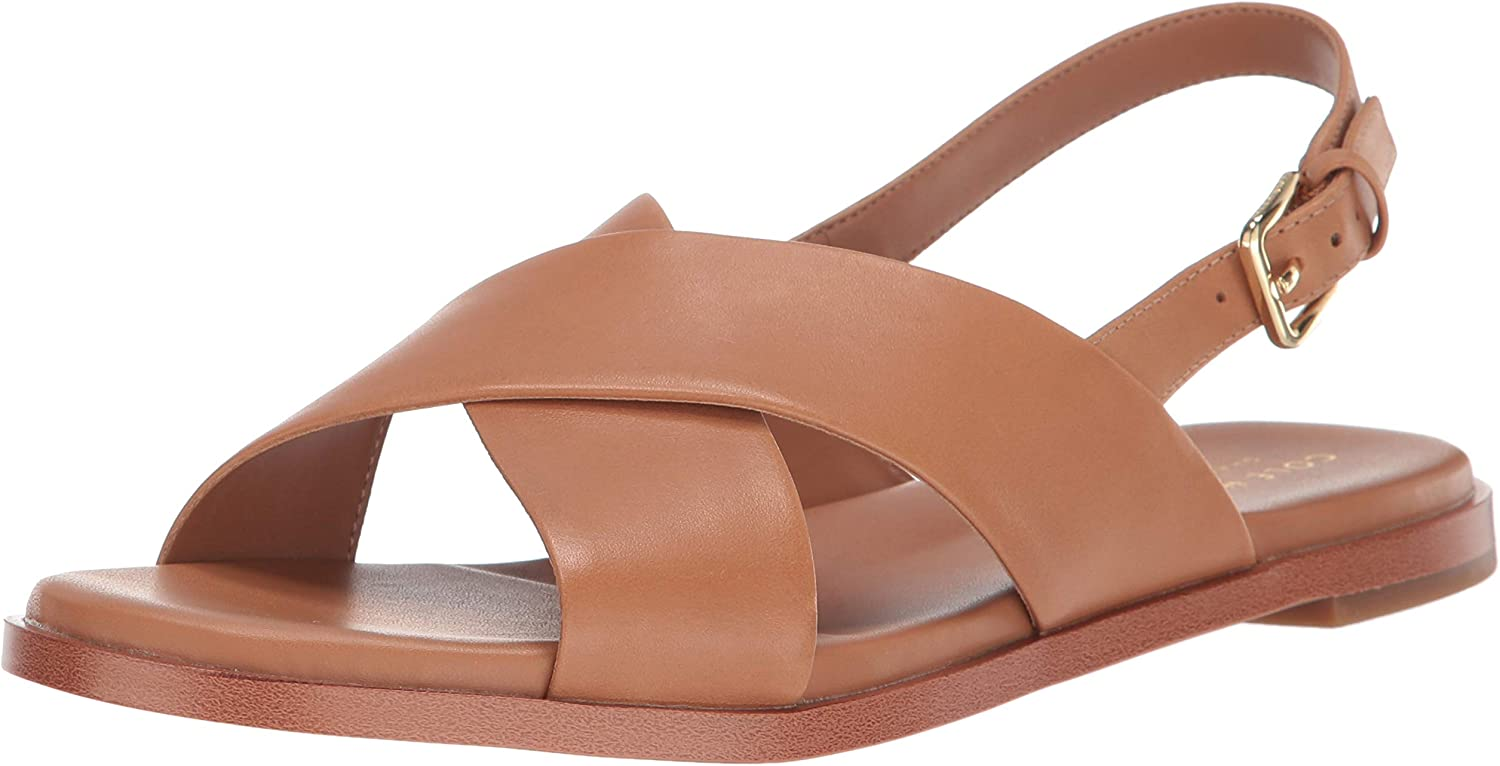 Cole Haan Women's Fernanda Grand SANDL Pecan Leather Brown W15151