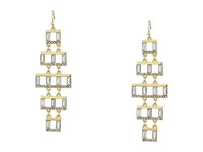 Vince Camuto Chandelier Earrings (Gold/Crystal) Earring