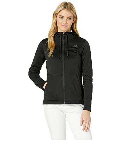 The North Face Tech Mezzaluna Hoodie (TNF Black/TNF Black) Women