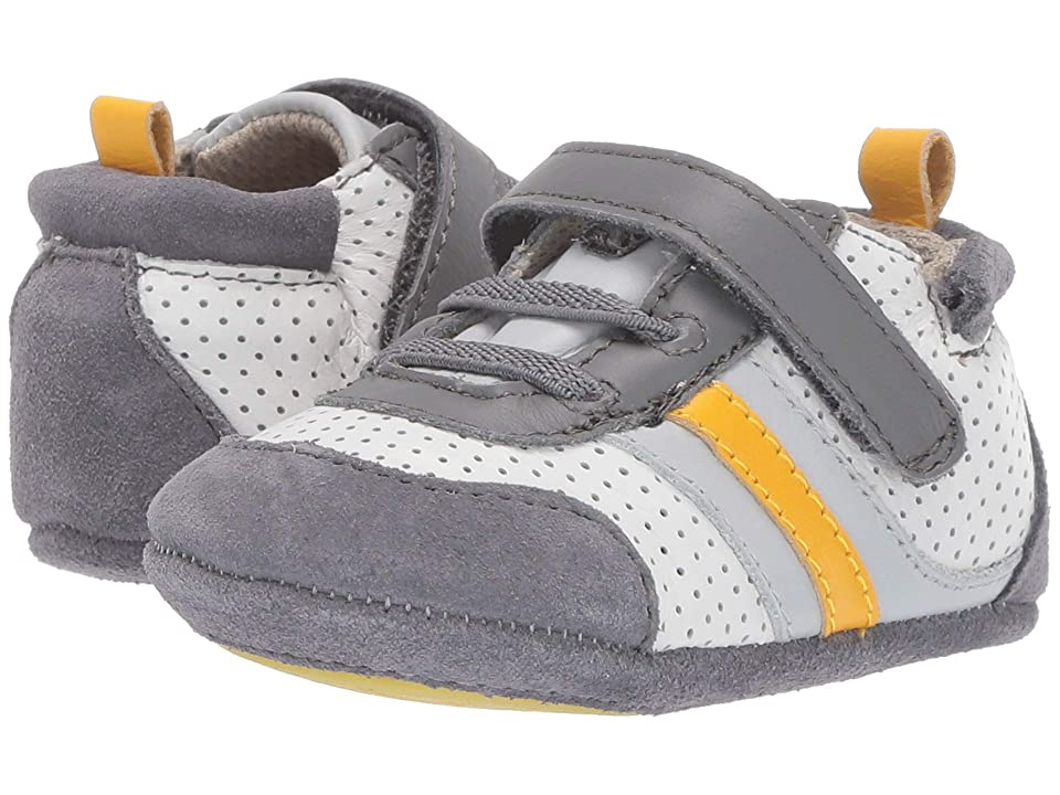 Robeez Everyday Ethan Mini Shoez (Infant/Toddler) (Grey) Boys Shoes