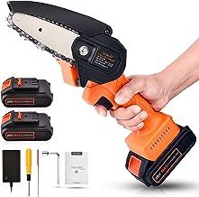 Mini Chainsaw Cordless 20V 2pcs Batteries
