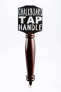 Chalkboard Tap Handle For The Draft Beer Lover's Kegerator or Bar (Dark)