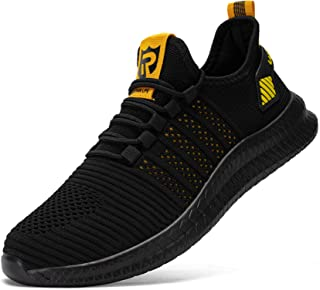 LARNMERN de Running Chaussures Homme Femme Course Fitness Tennis Respirantes Slip on Chaussures