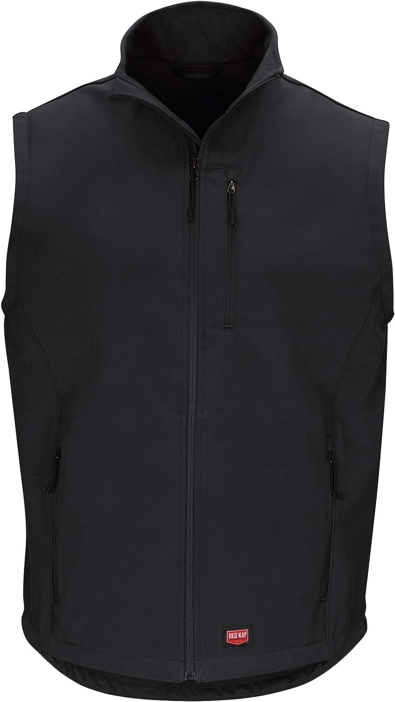 Red Kap Men's Softshell Vest