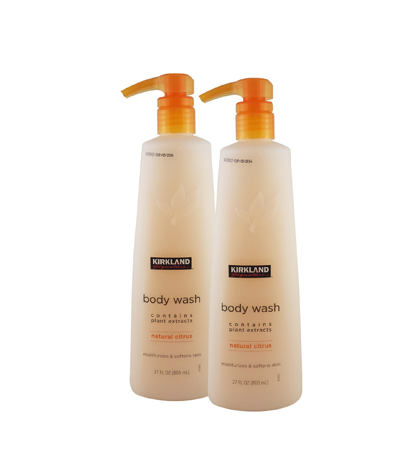 Kirkland Signature Natural Citrus Body Wash, 2 X 800 ml: Amazon.es ...
